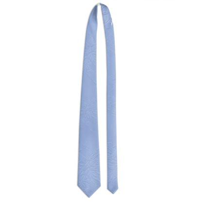 Tie - Slips - Light blue ink on light blue