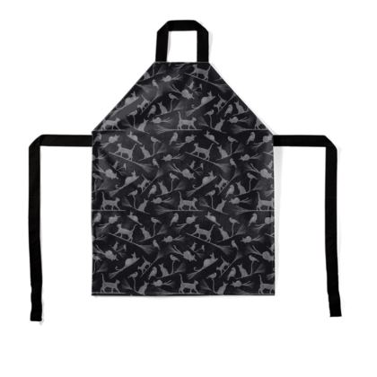 Apron: Cats on Broomsticks