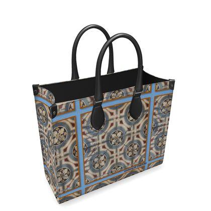 Nappaleder CHÂTEAU Shopping Bag, Vollleder Ausstattung
