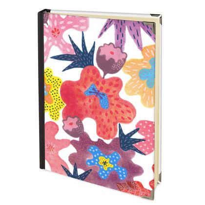 2022 Diary Berrylicious hand painted floral abstract
