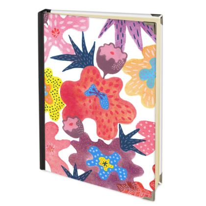 Journal Berrylicious hand painted abstract floral