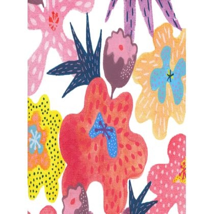 Tray Berrylicious hand painted floral abstract