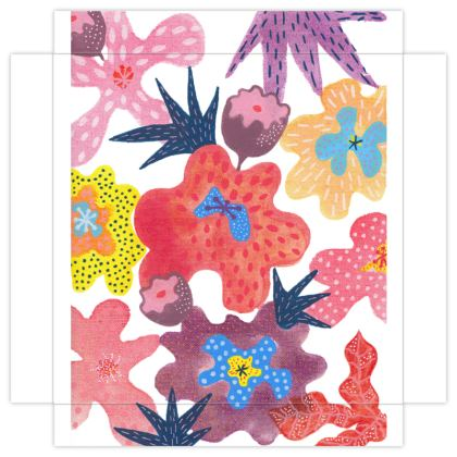 Mini Canvas Prints Berrylicious hand painted floral abstract