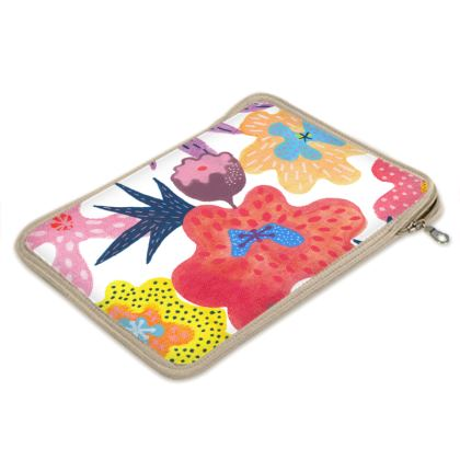iPad Air Slip Case Berrylicious hand painted floral abstract