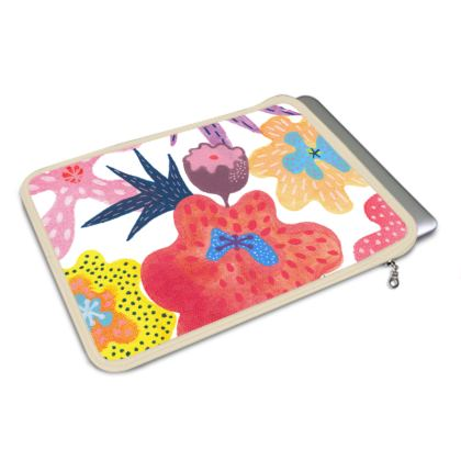 MacBook Air Cover Berrylicious hand painted floral abstract