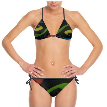 Bikini - Simple Colours (Black)