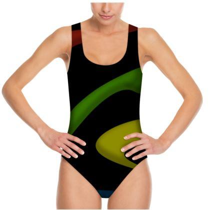 Swimsuit - Simple Colours (Black)