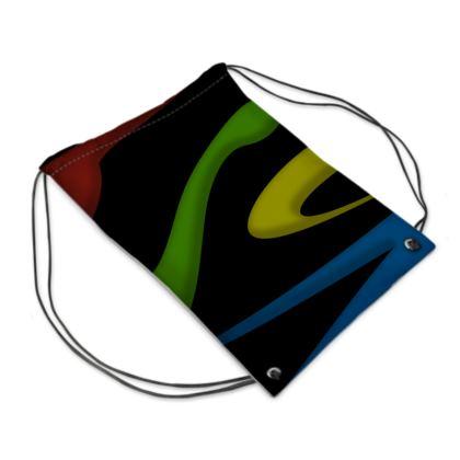 Swim Bag - Simple Colours (Black)