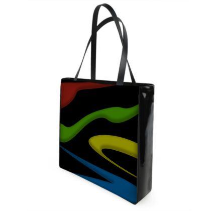 Beach Bag - Simple Colours (Black)