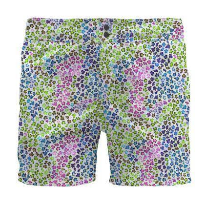 Leopard Skin Multicoloured Collection Board Shorts