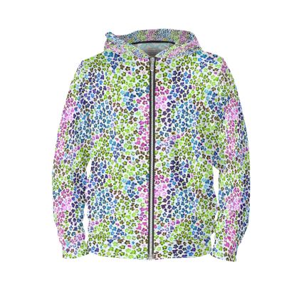 Leopard Skin Multicoloured Collection Hoodie
