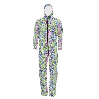 Leopard Skin Multicoloured Collection Hazmat Suit