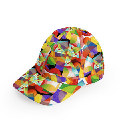 Psychedelic Rave Baseball Cap