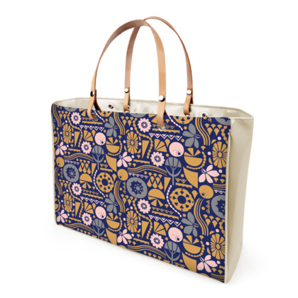 Eclectic Garden Original Handbag
