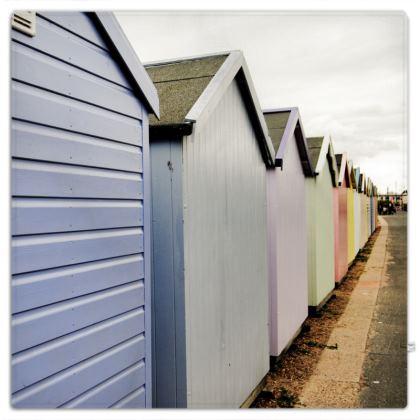 Picnic Blanket - Beach Huts