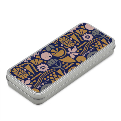 Eclectic Garden Original Classic Pencil Case Box
