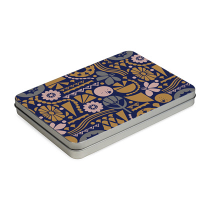 Eclectic Garden Original A5 Pencil Case Box
