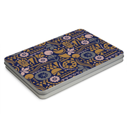 Eclectic Garden Original A4 Pencil Case Box