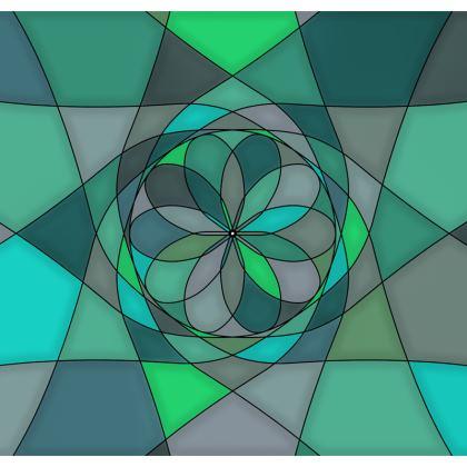 Men's Swimming Shorts - Jade spiral