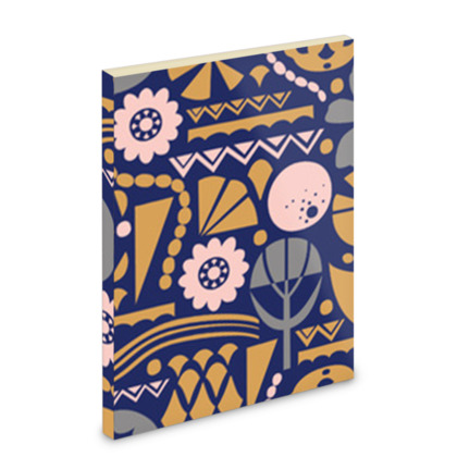 Eclectic Garden Original A5 Pocket Note Book