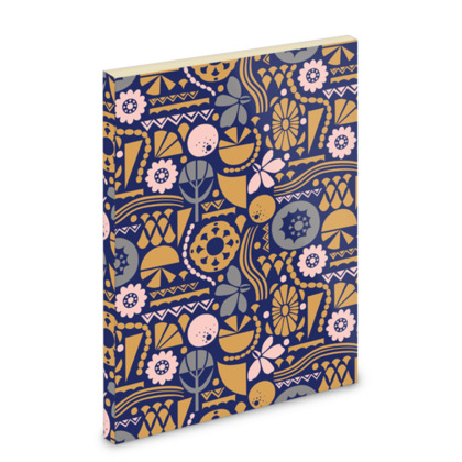 Eclectic Garden A6 Pocket Note Book