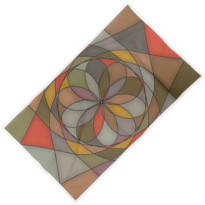 Towels - Orange spiral
