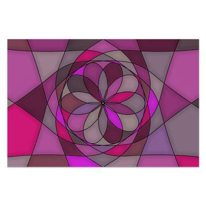 Sarong - Pink spiral