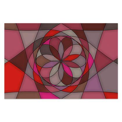 Sarong - Red Spiral
