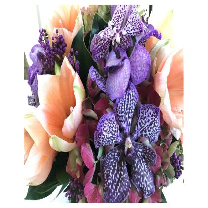 Trays - Vanda Orchid Bouquet