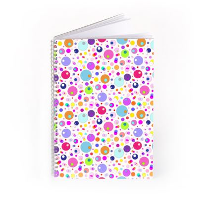 Atomic Collection Spiral Note Books
