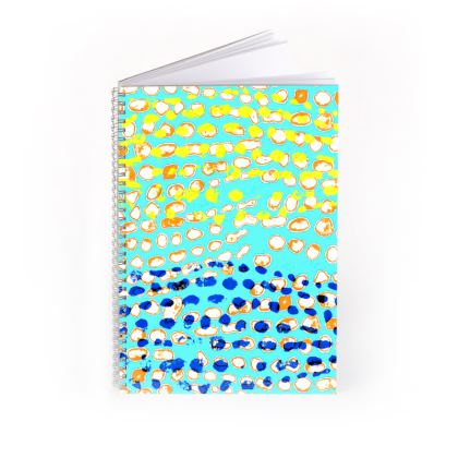 Textural Collection multicolored Spiral Note Books