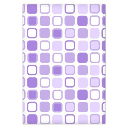 Purple Retro Art Design Bed Sheets