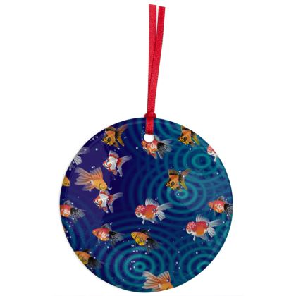 Christmas Ornaments Fishes