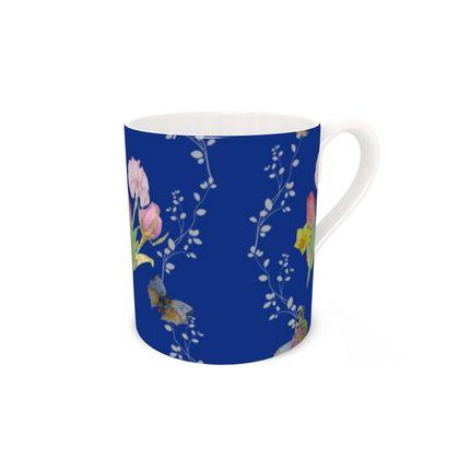Bouquets And Butterflies Mug