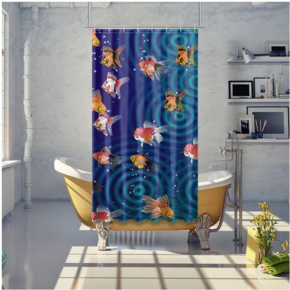 Shower Curtain Fish