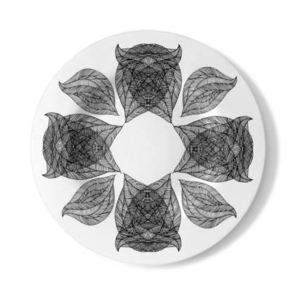 Geometric Decorative Plate