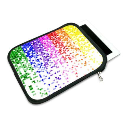 Rainbow Pixels - iPad Slip Case