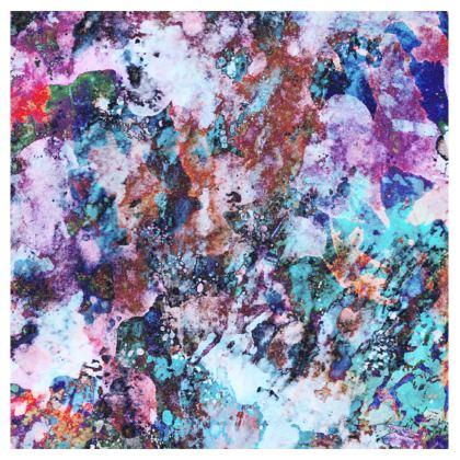 Mens Swimming Shorts Watercolor Texture 11 Rocks
