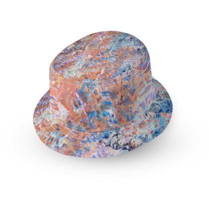 Bucket Hat Watercolor Texture 1