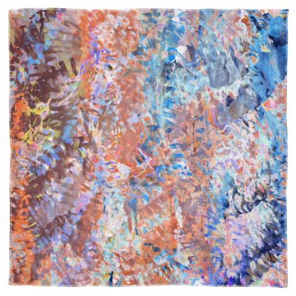 Scarf Wrap Or Shawl Watercolor Texture 1