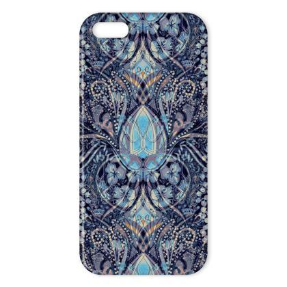 Nouva Print - Blue iPhone Case