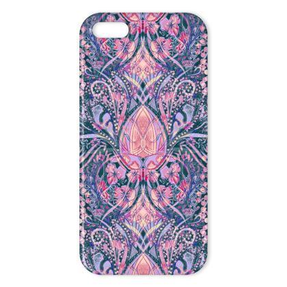 Nouva Print - Pink iPhone Case