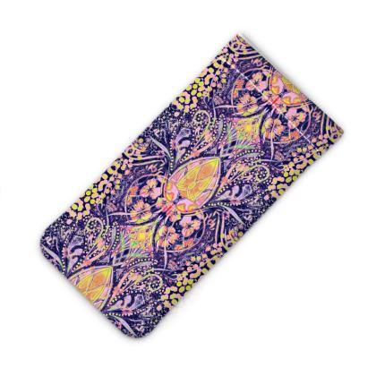 Nouva Print - Purple iPhone Slip Case