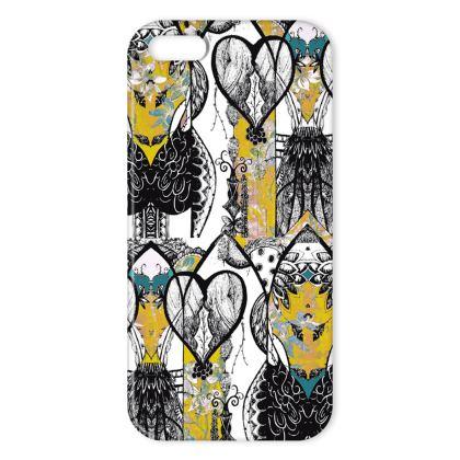 Aubrey iPhone Case - Yellow