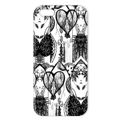 Aubrey iPhone Case - Black and White