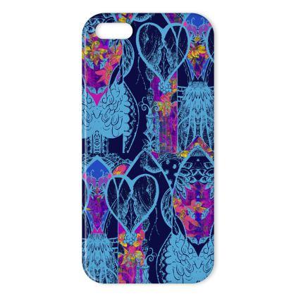 Aubrey iPhone Case - Blue