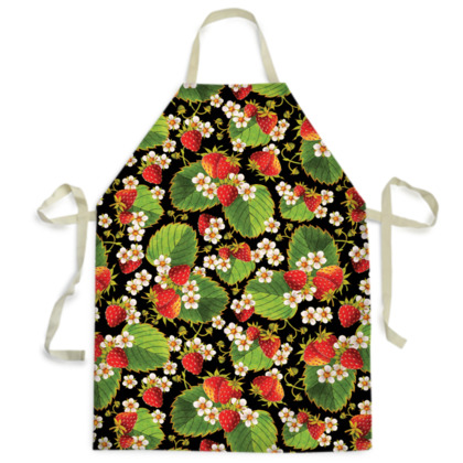 Elegant Strawberries Aprons