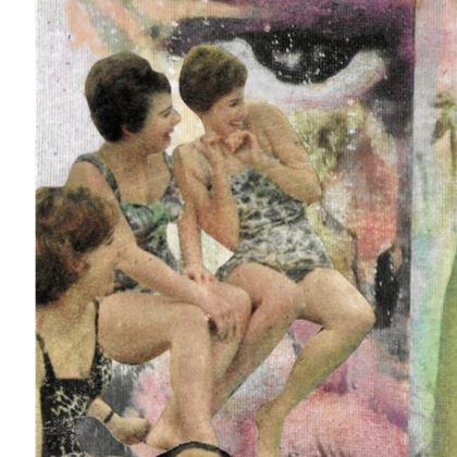 Vintage Summer 3, Double Deckchair