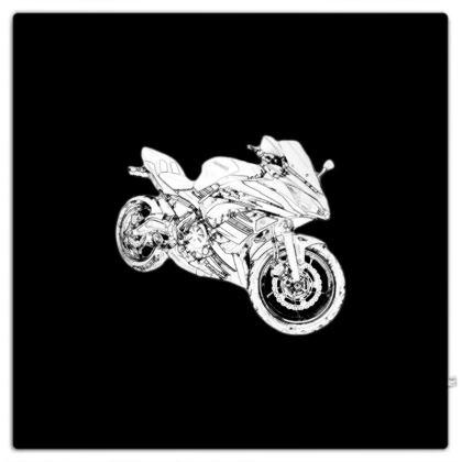 Picnic Blanket - Superbike Sketch
