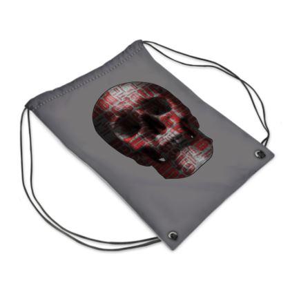 Swim Bag - Cheerful Skull